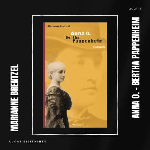 Marianne Brentzel_Anna O. Bertha Pappenheim_Cover