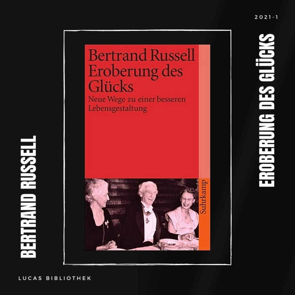 Bertrand Russell_Eroberung des Gluecks_Cover